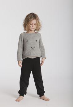 Bunny Sweater, Lucien Pants #oeufnyc  www.oeufnyc.com