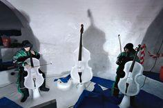 Ice music...