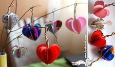 20 guirnaldas de corazones | Pica Pecosa