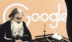 Lev Tolstoj: il doodle Google celebra il grande scrittore russo