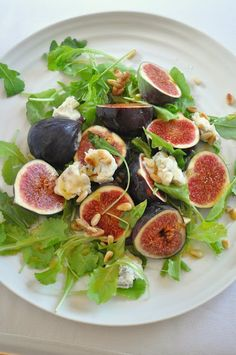 Seriously - why would anyone in their right mind choose junk/fast food over this delicious offering. I'll dream of fresh figs and goat's cheese tonight.
