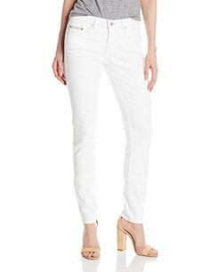 Calvin Klein Jeans Women's Curvy Skinny Jean, White Wash-$69.50