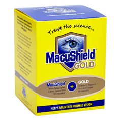 Macushield Gold with lutein, zeaxanthin, meso-zeaxanthin and omega 3