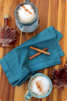 Maple Cinnamon Latte