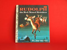 Your place to buy and sell all things handmade Richard Scarry, Fun Illustration, Rudolph The Red, Little Golden Books, Red Nosed Reindeer, Great Stories, Vintage Children, Retro Vintage, This Book