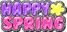 Happy First Day of Spring | how s that for glitter tastic i am down to