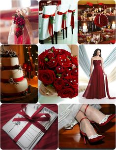 What Colors Am I SUPPOSED To Have For My Winter Wedding? on itsabrideslife.com / Red Wedding Ideas / Christmas Wedding Ideas