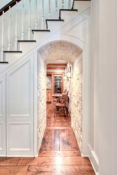 staircase under passage