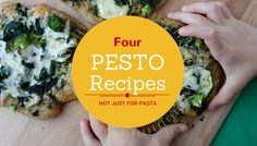 Pesto: Not Just for Pasta Anymore | Try these 4 recipes to break out of your cooking rut. Recipes from Weelicious.com