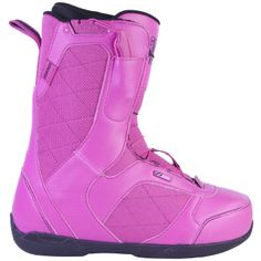 cool pink snowboard boots