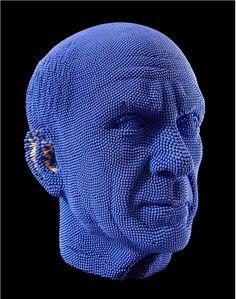 Matchstick Sculptures by David Mach