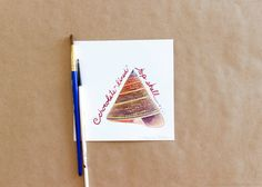 Original Gouache Chocolate-Lined Top Seashell Painting by Amalia Hillmann of The Eclectic Illustrator Chocolate Line, Tactile Texture, Seashell Painting, Advertising And Promotion, New Pins, Gouache, Love Art, Cyber, Mall