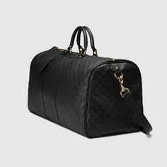 Large Guccissima carry-on duffle