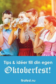 - Fira fest - Tips till din egen Oktoberfest Beer Fest, Oktoberfest Tips, Party, Couple Photos, Couple Pics, Parties, Receptions