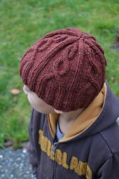 This is an easy unisex cabled hat for everyone. Enough patterning to keep  you interested 25f0fc542f