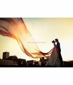 Korea Pre-Wedding Photoshoot - WeddingRitz.com » Close to nature without artificially not directing it where possible 'Spazio stuido'