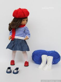 Ателье. Игровые куклы Sylvia Natterer. Minouche / Sylvia Natterer, Сильвия Наттерер. Коллекционно-игровые куклы / Бэйбики. Куклы фото. Одежда для кукол