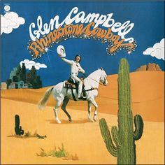 Glen Campbell Rhinestone Cowboy on 180g LP 40th Anniversary Reissue Newly-Remastered on 180-Gram Vinyl with Special Embossed LP Jacket! Released in July 1975, Glen Campbell's Rhinestone Cowboy was the