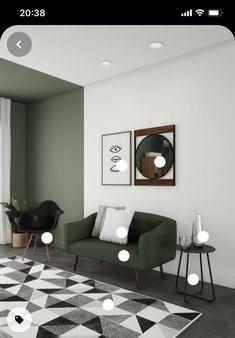 Home Room Design, Home Interior Design, Living Room Designs, Living Room Decor, Room Interior, Bedroom Wall, Bedroom Decor, Wall Decor, Wicker Bedroom