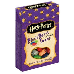 A package of Bertie Bott's Every Flavour Beans: