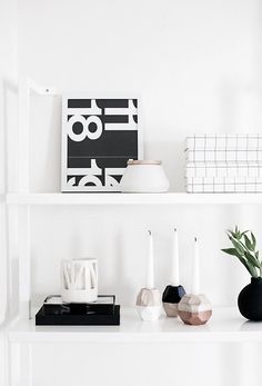 DIY Geometric Candle Holders from MichaelsMakers  Homey Oh My