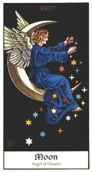 Tarot of Angels - Deck by Rosemary Ellen Guiley and Robert Michael Place  © 1995 Harper Collins