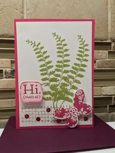 Hi that is all by Hlburrell - Cards and Paper Crafts at Splitcoaststampers
