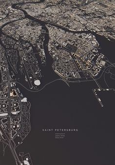 """archatlas: """"City Layouts Luis Dilger Topography, architecture and traffic routes give every city a unique structure. These conditions create the typical and individual inner structure of a city. I..."""