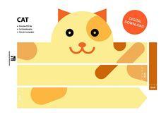 Cat Paper Crown Printable Crown Template Animal Headband