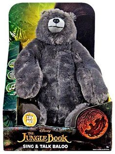 Jungle Book 158765: Disney The Jungle Book Sing And Talk Baloo Plush -> BUY IT NOW ONLY: $39.99 on eBay!