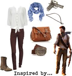 """Nathan Drake - Uncharted"" by musicalgeek on Polyvore"