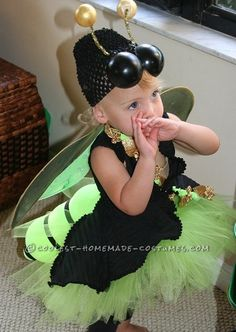 Easy and Amazing Homemade Lighted FireFly Costume for Anyone… Enter the Coolest Halloween Costume Contest at http://ideas.coolest-homemade-costumes.com/submit/