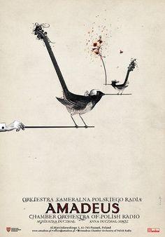 Amadeus, Chamber Orchestra of Polish Radio, Polish Poster