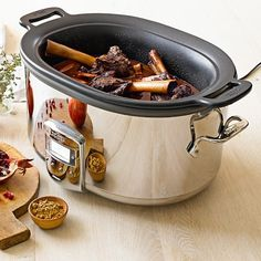 allclad deluxe slow cooker with insert 7qt