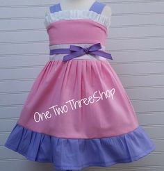 Custom Boutique Clothing  Doc McStuffins Inspired  Sassy Girl Dress