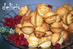 "Walnut Cookies ""Oreshki"", Russian walnut cookies with condensed milk, best dessert"