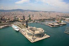 Vista aérea del World Trade Center Barcelona. #architecture #arquitectura #Barcelona #parqueempresarial #conventions #mar #Barcelone #Barcelona #tourism #turismo #Catalonia #Catalunya #Cataluña #business #congress #eventos #eventoempresa