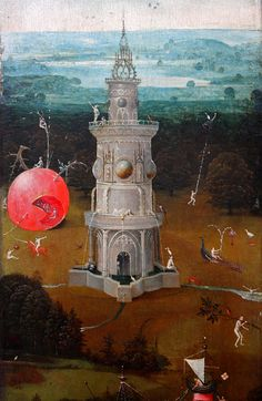 Hieronymus Bosch, the last judgment (detail)