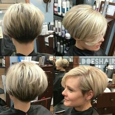 bob hairstyles with bangs over 50 60 Hottest Bob Hairstyles for Everyone! (Short Bobs, Mobs, Hottest Bob Hairstyles for Everyone! Pixie Bob Haircut, Bob Hairstyles With Bangs, Classic Hairstyles, Short Pixie Haircuts, Wedge Bob Haircuts, Short Wedge Hairstyles, Undercut Pixie, Popular Hairstyles, Short Pixie Bob