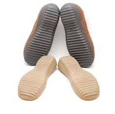 Rubber soles for my felted clogs and booties - Winter shoes, snow boots soles - black beige rubber soles