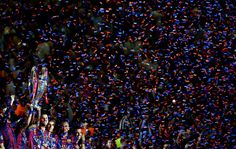 The players of Barcelona lift the trophy as they celebrate victory after the UEFA Champions League Final between Juventus and FC Barcelona at Olympiastadion on June 2015 in Berlin, Germany. on June 2015 in Berlin, Germany. Neymar Pic, Fcb Barcelona, Uefa Champions League, Berlin Germany, Finals, June, Soccer, History, Pictures