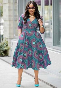 African Ankara dress, African Clothing for Woman, Midi Dress, Dress With Pockets, African Print Dres Source by nadegeprevaut Fashion dresses African Fashion Ankara, African Fashion Designers, Latest African Fashion Dresses, African Dresses For Women, African Print Dresses, African Print Fashion, African Attire, Africa Fashion, African Prints