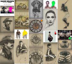 Hand Drawn Photoshop Action  Download here: https://graphicriver.net/item/hand-drawn-photoshop-action/13940500?ref=KlitVogli