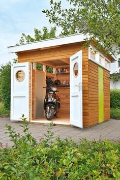 Gartenhaus bilder ideen gartenh user aus holz - Gartenhaus romantisch ...