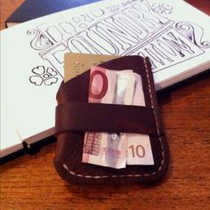 Wulf inspired leather wallet Leather Craft, Money Clip, Leather Wallet, Beans, Crafty, Inspired, Leather Crafts, Money Clips, Leather Wallets