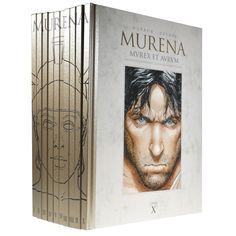 Beaux livres - Collection integrale murena -t-1 a 9 et album bonus par dargaud benelux.jpg