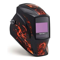 "The auto darkening welding helmet is of nylon construction and it includes lithium batteries, magnifying lens holder, 5 outside and 2 inside cover lenses and helmet bag. It is of series – digital elite. Hazardous material.   	 		 			 				 					Famous Words of Inspiration...""Those who..."