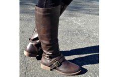 GroopDealz | Women's Double Buckle Riding Boots - 2 Colors