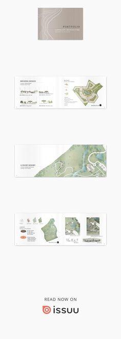 Ideas For Design Portfolio Layout Architecture Graphics Villa Architecture, Landscape Architecture Portfolio, Landscape Model, Landscape Structure, Architecture Graphics, Drawing Architecture, Landscape Architects, Architecture Journal, Architectural Portfolio Design