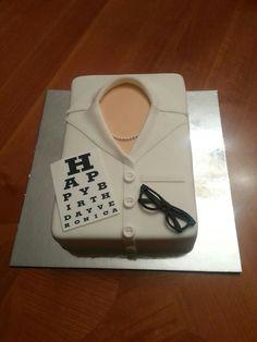 Cake for optometrist